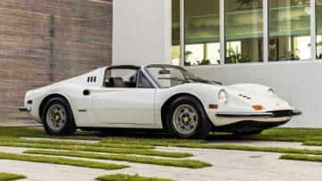 White 1973 Ferrari Dino 246 GTS