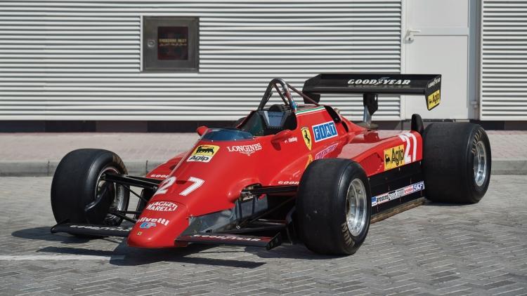 1982 Ferrari 126 C2 F1