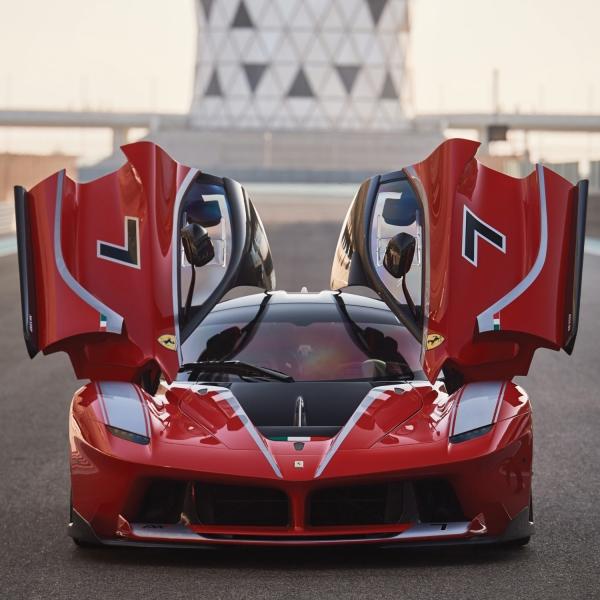 2015 Ferrari FXX K open doors