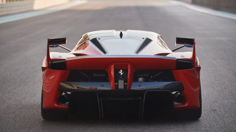 2015 Ferrari FXX K rear