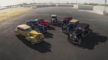 Seven Cadillacs offered from the John D. Groendyke Collection