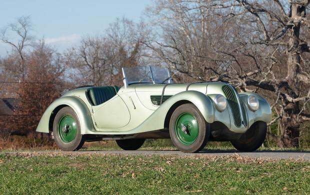 Green 1937 BMW 328