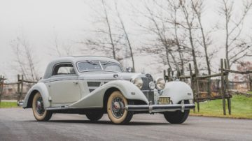 1937 Mercedes Benz 540 K Coupe