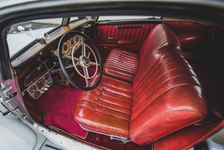 1937 Mercedes Benz 540 K Coupe Interior