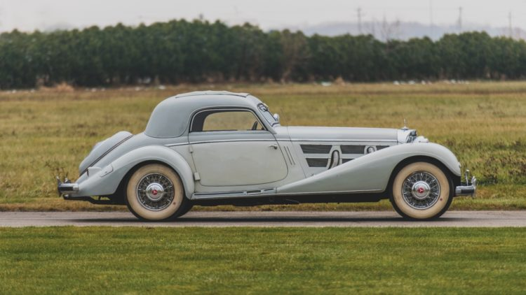 1937 Mercedes Benz 540 K Coupe Profile