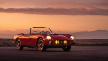 1958 Ferrari 250 GT Cabriolet Series I by Pinin Farina on offer at RM Sotheby's Arizona 2020 sale during Scottsdale Week