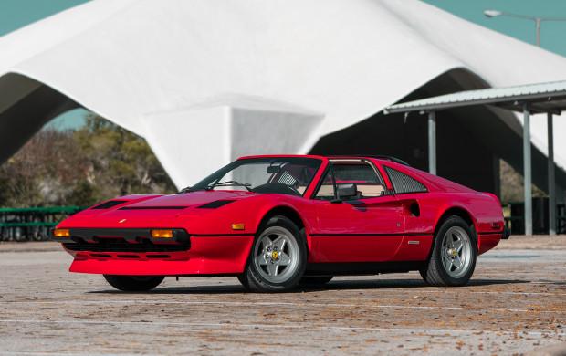 Red 1985 Ferrari 308 GTS Quattrovalvole