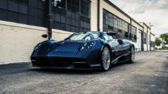 2018 Pagani Huayra Roadster on offer at RM Sotheby's Arizona 2020 sale during Scottsdale Week
