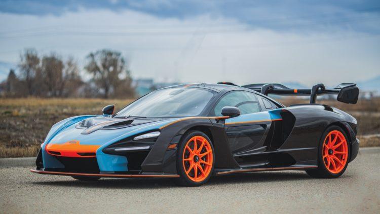2019 McLaren Senna on offer at RM Sotheby's Arizona 2020 sale during Scottsdale Week