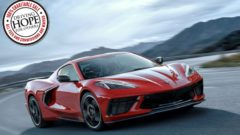 2020 Corvette VIN 001 Charity Lot at Barrett-Jackson Scottsdale 2020