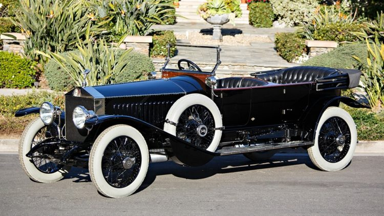 1914 Rolls-Royce 40/50 HP Silver Ghost Torpédo Phaeton on offer at 2020 Gooding Amelia Island auction