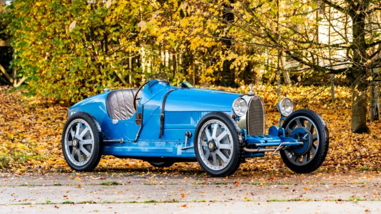 1925 Type 39 Grand Prix Racing Two-Seater on offer at Bonhams Paris 2020 Sale