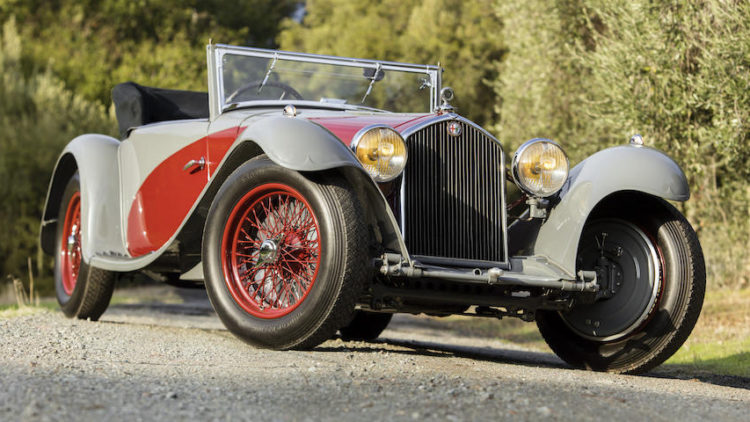 1932 Alfa Romeo 8C 2300 Figoni Cabriolet Décapotable on offer at Bonhams Scottsdale 2020