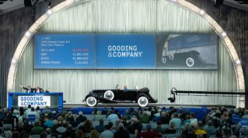 1932 Hispano-Suiza J12 Dual Cowl Phaeton - a top result at Gooding Scottsdalde 2020