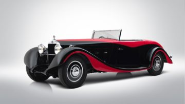 1935 Delage D8S cabriolet on offer at Bonhams Paris 2020 Sale