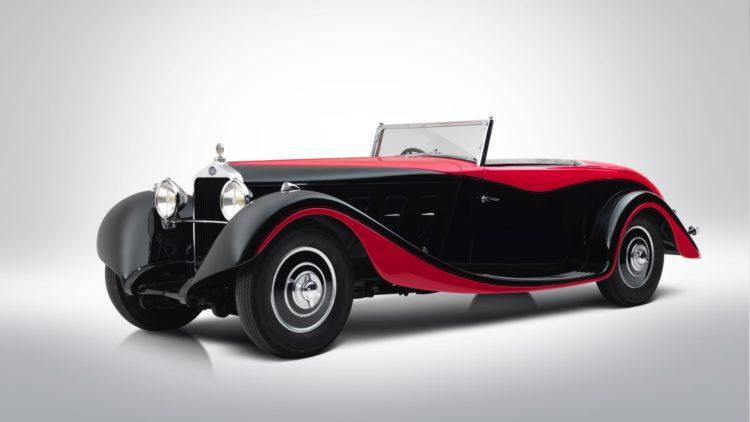 1935 Delage D8S cabriolet on offer at Bonhams Paris 2020 Sale