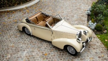 1939 Bugatti Type 57C 'Stelvio' cabriolet on offer at Bonhams Paris 2020 Sale