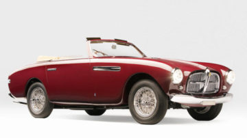 1951 Ferrari 212 Inter Vignale Cabriolet on offer at Bonhams Scottsdale 2020
