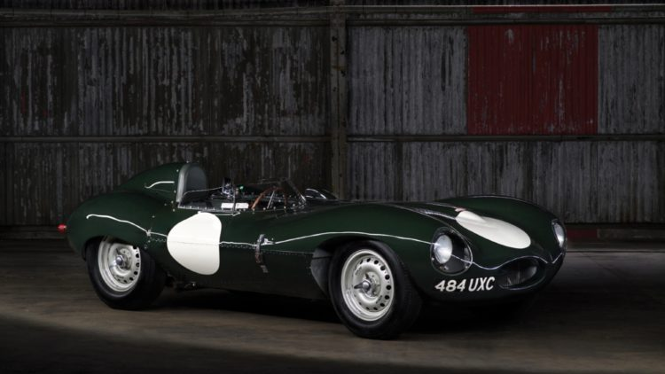 1955 Jaguar D-Type on offer at RM Sotheby's Paris 2020