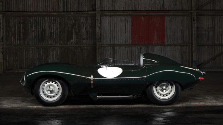 1955 Jaguar D-Type on offer at RM Sotheby's Paris 2020