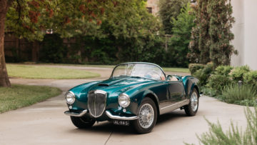 1955 Lancia Aurelia B24S Spider America on offer at Bonhams Scottsdale 2020