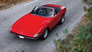 1972 Ferrari 365 GTS/4-A Daytona Spider by Scaglietti on offer at RM Sotheby's Paris 2020