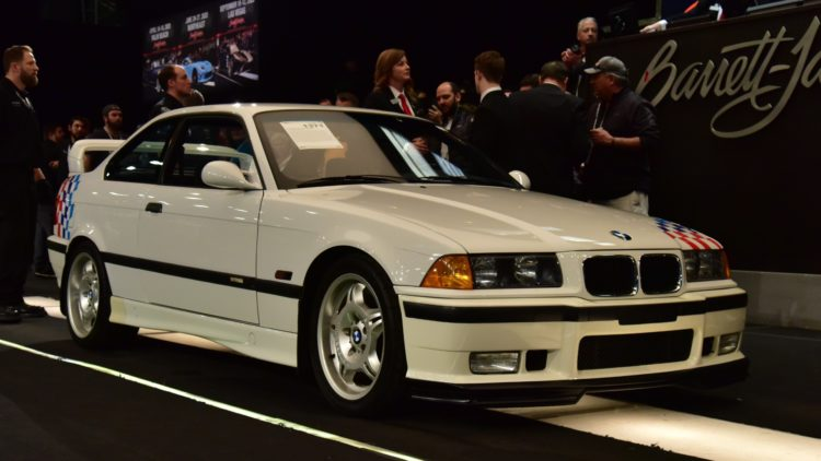 1995 BMW M3 Lightweight sold at Barrett-Jackson Scottsdale 2020