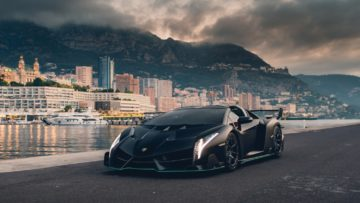 2015 Lamborghini Veneno Roadster on offer at RM Sotheby's Paris 2020