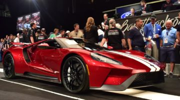 2017 Ford GT (Lot #1392) – $1,485,000 sold at Barrett-Jackson Scottsdale 2020