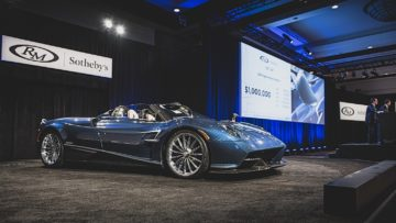 2018 Pagani Huayra Roadster sold at RM Sotheby's Arizona 2020 sale