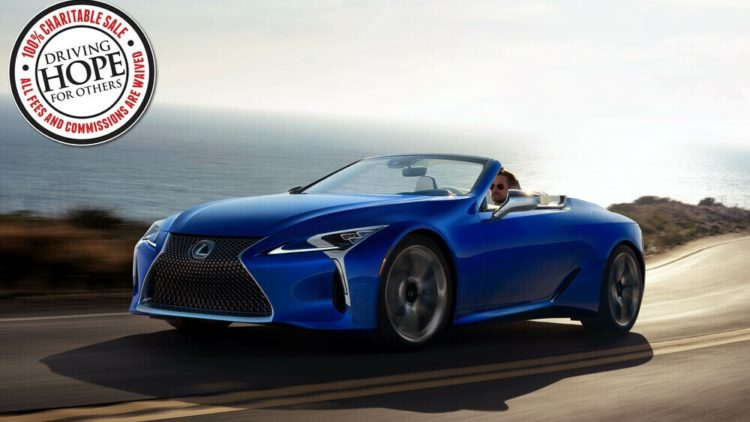 2021 Lexus LC 500 Convertible Inspiration Series VIN 001