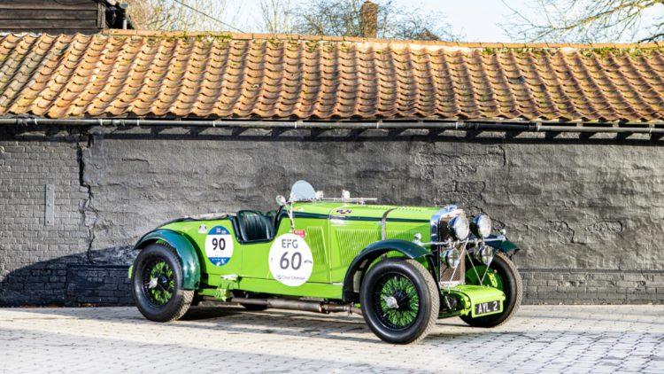 1934 Talbot AV105 Brooklands Sports Racer on offer at Bonhams Paris 2020 Sale