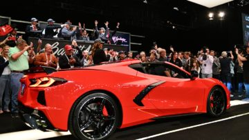 2020 Chevrolet Corvette Stingray VIN001 at Barrett Jackson Scottsdale 2020
