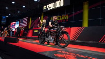 1922 Brough Superior Mark 1 90 Bore at Mecum Las Vegas 2020
