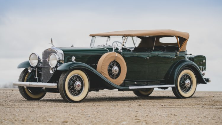 1930 Cadillac V-16 Sport Phaeton by Fleetwood on offer at RM Sotheby's Amelia Island 2020 Sale
