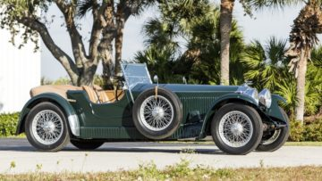 Green 1931 Invicta 4½-Liter S-Type Low Chassis Tourer on offer at Bonhams Amelia Island Sale 2020