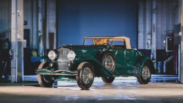 1932 Duesenberg Model J Convertible Coupe by Murphyon offer at RM Sotheby's Amelia Island 2020 Sale