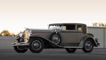 1932 Duesenberg Model J Stationary Victoria by Rollston on offer at RM Sotheby's Amelia Island 2020 Sale