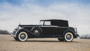 1934 Packard Twelve Convertible Victoriaon offer at RM Sotheby's Amelia Island 2020 Sale