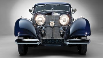 1937 Mercedes-Benz 540 K Cabriolet A fron on offer in the RM Sotheby's Essen 2020 Sale