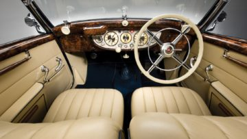 1937 Mercedes-Benz 540 K Cabriolet A Interior on offer in the RM Sotheby's Essen 2020 Sale