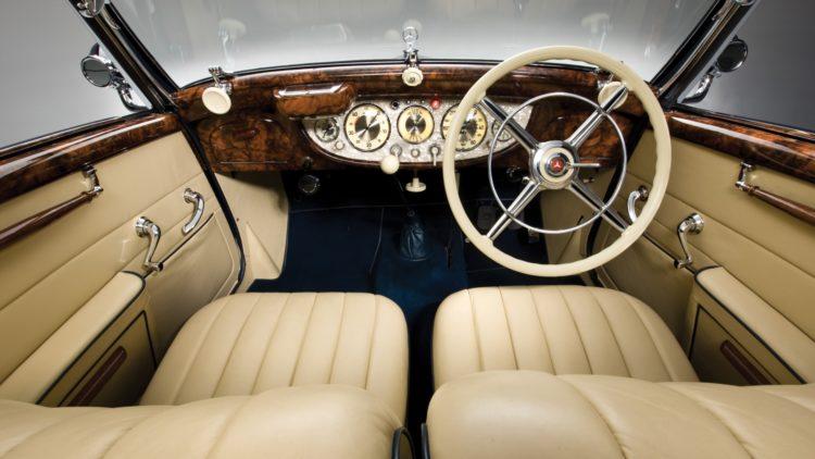 1937 Mercedes-Benz 540 K Cabriolet A Interior on offer in the RM Sotheby's Essen 2020 Sale