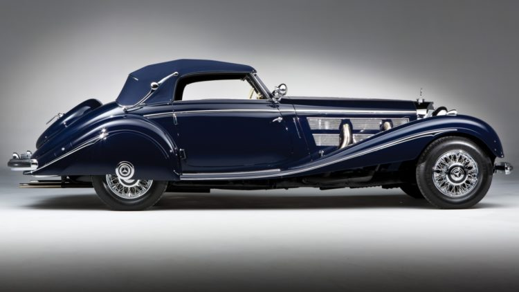 1937 Mercedes-Benz 540 K Cabriolet A profile on offer in the RM Sotheby's Essen 2020 Sale