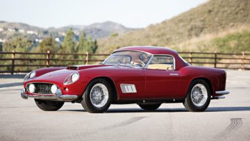 1958 Ferrari 250 GT LWB California Spider on offer at Gooding Amelia Island 2020