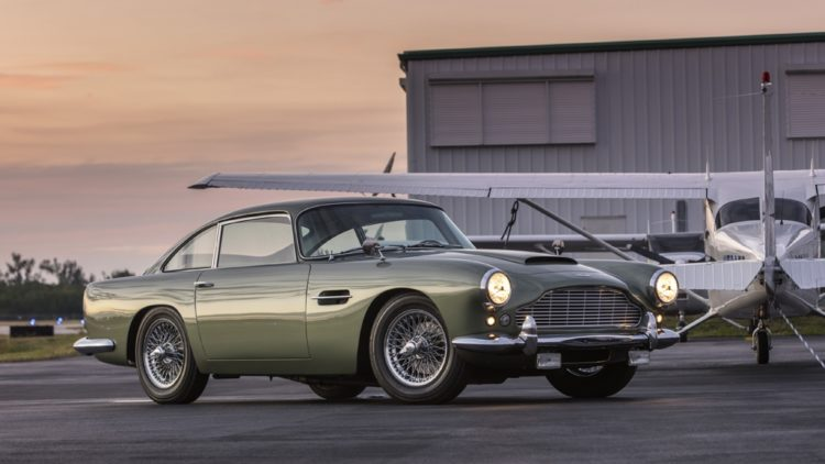 Green 1962 Aston Martin DB4 Series 4 GT-Engined Saloon on offer at Bonhams Amelia Island Sale 2020