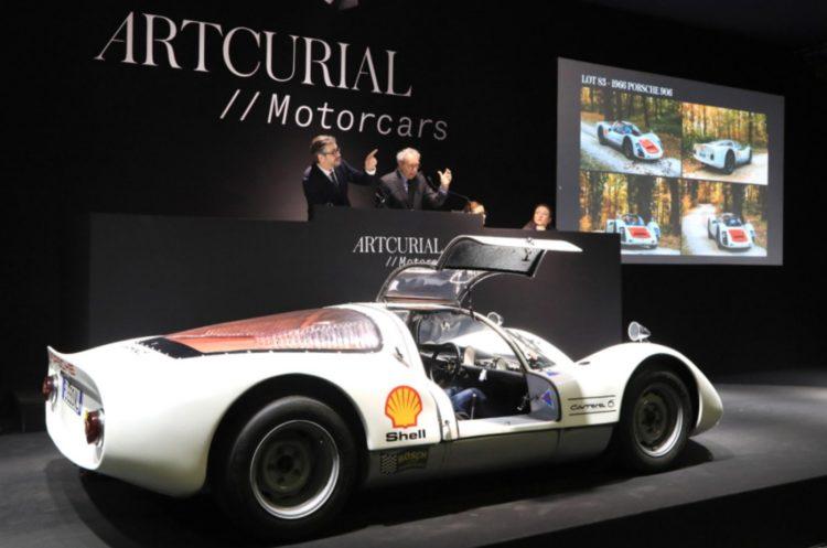 1966 Porsche 906 sold at Artcurial Paris Rétromobile 2020 sale