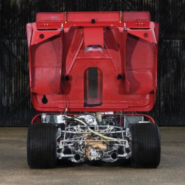1969 Alfa Romeo Tipo 33/3 open engine on offer at RM Sotheby's Monaco Sale 2020