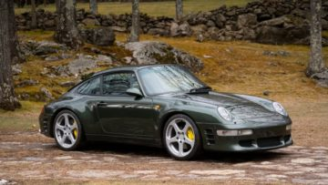 1998 RUF Turbo R on offer at Gooding Amelia Island Sale 2020