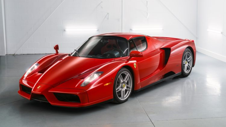 Red 2003 Ferrari Enzo on offer at RM Sotheby's Amelia Island 2020 Sale