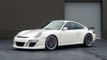 White 2007 RUF RT12 on offer at Gooding Amelia Island Sale 2020